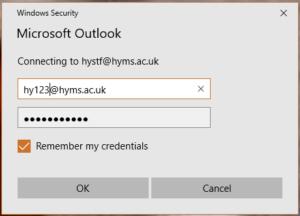 Outlook log in
