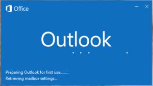 Outlook start up